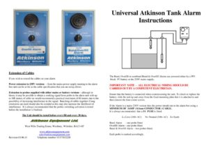 thumbnail of TA Universal Tank Alarm Instructions