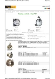 thumbnail of Draught Stabiliser Tigex 50