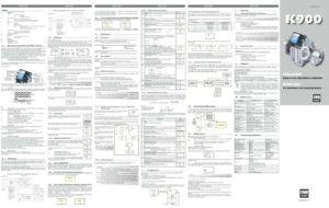 thumbnail of K900_Instruction_Manual