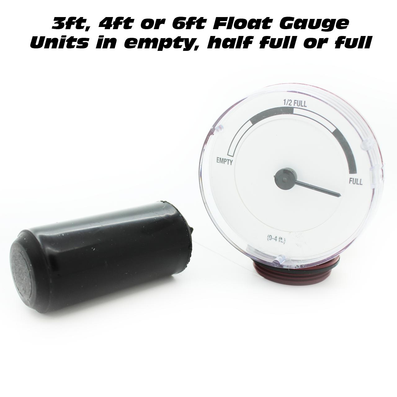 Float Gauge - Oil Tank Contents Gauge -