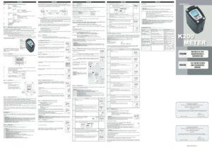thumbnail of piusi K200_Instruction_Manual