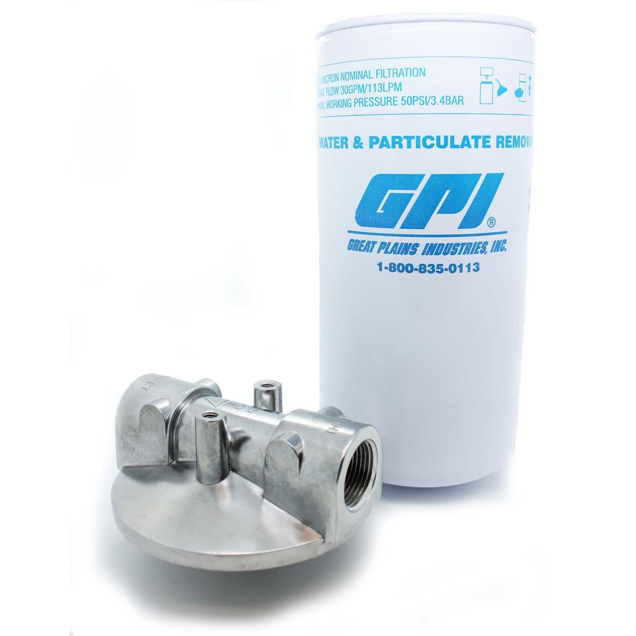 Gpi Cim Tek Water Amp Particulate Fuel Tank Filter 150lpm