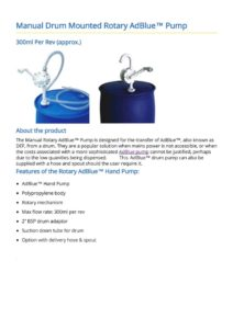 thumbnail of Rotary AdBlue™ Pump